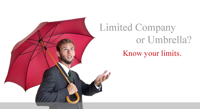 Umbrella Company know your limits with Paramount Solutions